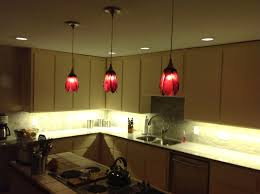 red pendant lighting kitchen with hanging lights pendants light fixtures and 11 island dining room on 2592x1936