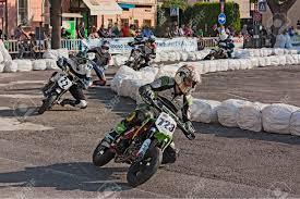 riders racing at ii trofeo lusa moto for pit bike motard during