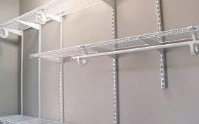 shelftrack installation information shelftrack closet storage system