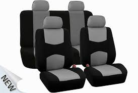 car seat covers universal car seat covers full set sporty grey black washable airbag of