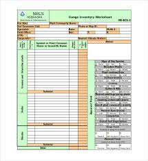 Inventory Worksheet Excel Template Best Plant Inventory Template