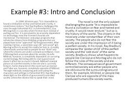 fahrenheit writing the introduction and conclusion ppt  11 example