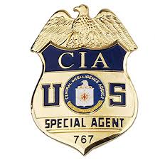 Us Cia Special Agent Central Intelligence Agency Metal Badge Amazon