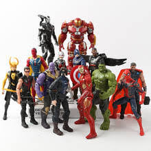 <b>Фигурки Marvel Avengers</b> 3 Infinity War, игрушки Халк, Капитан ...