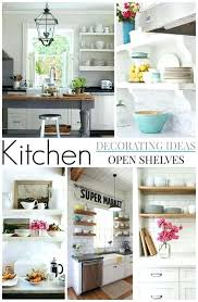kitchen shelf decorating ideas cottage farmhouse kitchens inspiring in white fox kitchen corner shelf decorating ideas