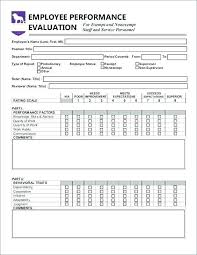 Job Evaluation Template Employee Feedback Template | nfcnbarroom.com