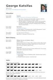 Resume Examples For Military Best Military Resume Samples VisualCV Resume Samples Database