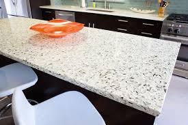 image of recycled glass countertops reviews