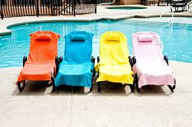 chaise lounge chair towel covers cover up sun towel beach pool