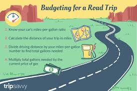 Cost Per Mile Calculator Excel How To Calculate Cost Of Gas For A Road Trip
