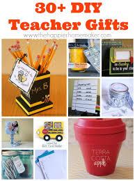 30 diy teacher gifts