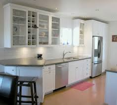 design compact kitchen ideas small layout: kitchen  small kitchen design layouts for small space with charming auburn floor color ideas and ivory wall paint color ikea design ideas plus creative bin drawers kitchens design