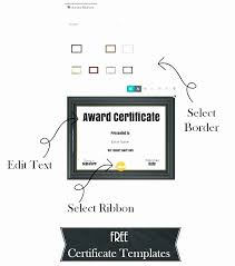20 Gift Certificate Template Pages Lock Resume