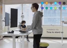 smartdesk 3 touchscreen standing desk autonomous smart office