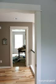 Painting adjoining rooms different colors Transition Connecting Room Paint Colors Paint Tip By Taking Darker Paint Color Used In One Room And Adding White You Can Create New Complementary Color Which Pinterest Improving The Visual Flow Between Rooms Dream Home Pinterest