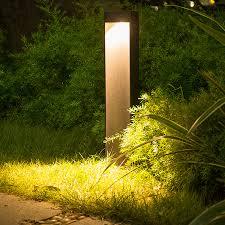 Landscape Pillar Lighting Us 59 9 30 Off Thrisdar Outdoor Landscape Lawn Light Waterproof Villa Garden Courtyard Pillar Light Backyard Pathway Park Street Post Lamp In Lawn