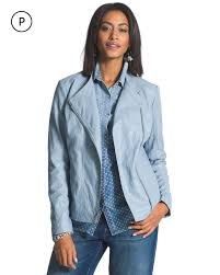 return to thumbnail image selection petite faux leather moto jacket preview image to start