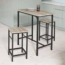 Sobuy Ogt10 N Set De 1 Table 43 2 Tabourets Ensemble Table De Bar