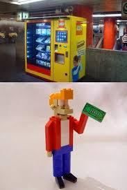 Lego Soda Vending Machine Magnificent Geeks Would Love This Vending Machine TechEBlog