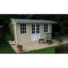 mmgs luxury garden studio office summer house from 2 4m 4 2m