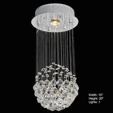 brizzo lighting s sphere modern crystal chandelier small throughout stunning modern mini chandelier for your residence