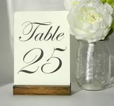 table number holders. rustic wooden table number holders , - gallery360 designs, designs n
