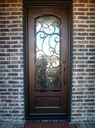 glass front doors with iron.  Iron Iron And Glass Front Doors S Door Page 5  Throughout With