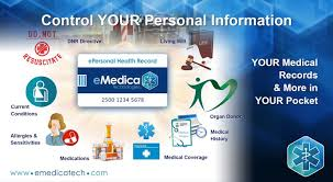 Comprehensive Health Record Cards Personal Health Record