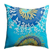 shop rhadi by koko bluemustard euro pillow case at lowescom