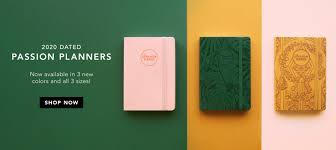 Personal Journals For Sale Passion Planner Your Personal Goal Planner And Daily Organizer