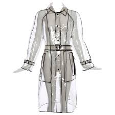 prada transpa pvc rain coat autumn winter 2002 2003 for