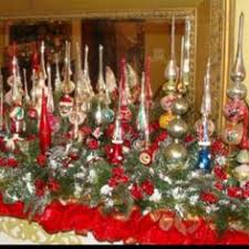 Set Of 35 Silver And Gold Ornaments  Balsam HillChristmas Tree Finials