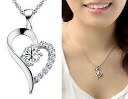costume jewellery 14k white gold cubic