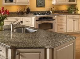 grey and black kitchen island countertop and stove view silestone catalog