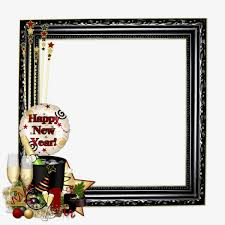 cartoon black frame happy new year greetings cartoon clipart frame clipart new clipart