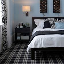 carpet designs for bedrooms. Delighful Bedrooms Combine Contrasting Geometrics  Patterned Carpet Ideas PHOTO GALLERY  Housetohomecouk And Carpet Designs For Bedrooms L