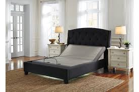 Adjustable Base Head, Feet - Queen | Ashley Furniture HomeStore