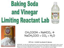 Baking Soda. and Vinegar