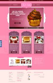 Sweet Cakes Ecommerce Psd Website Template Designscanyon
