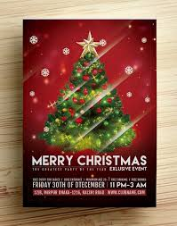 Christmas Flyer Templates 15 Newest Free Christmas Flyer Templates For Christmas