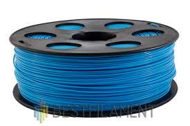 <b>ABS пластик</b> для 3D-принтеров Bestfilament. Цвет <b>голубой</b> 1 кг. 1 ...