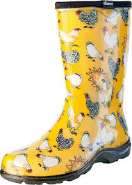 garden boots womens. Plain Boots Amazoncom  Sloggers Womenu0027s Waterproof Rain And Garden Boot With Comfort  Insole Chickens Daffodil Yellow Size 7 Style 5016CDY07 U0026 Outdoor To Boots Womens T