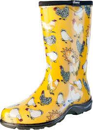 Patterned Rain Boots Simple Design Ideas