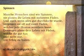 Gedichte Von Nicole Sunitsch Autorin Sprüche Spinnen Aus Dem