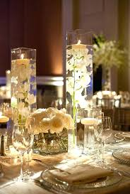 Vase Decoration Ideas For Parties Trumpet Centerpiece Tall Clear.
