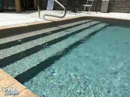 Dark pool water Bottom When You Are Standing On The Shore Toes Just Barely Being Covered The Waves Rolling In And Out The Water Is Clean Swimming Pool Blog Royal Swimming Pools What To Know When Choosing Pool Liner