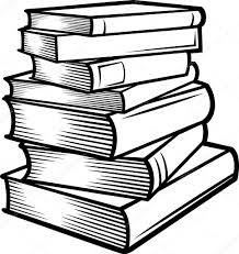 stack of books books stacked book clip art book art book drawing