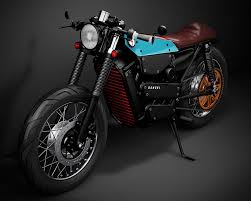 honda electric caf racer concept fuses classic styling with