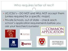 do csu need letter recommendation ms park mrs ramirez letters of recommendation workshop ppt