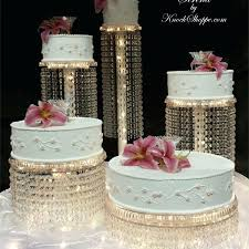 chandelier cake stand from view options aurora chandelier cake stand chandelier cake stand diy